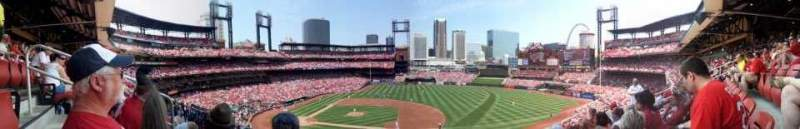 Seating view for Busch Stadium Section 242 Row 5 Seat 4
