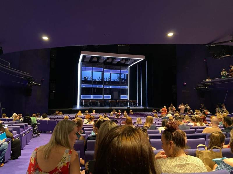 Seating view for The Lowry Section Stalls Row V Seat 31