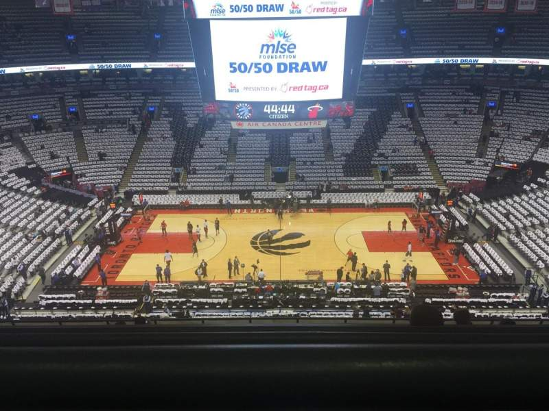 Seating view for Air Canada Centre Section 321 Row 10 Seat 13