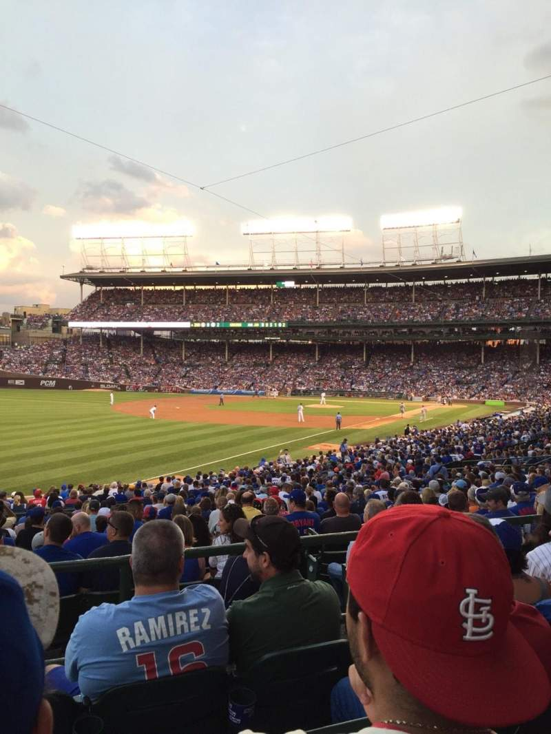 Seating view for Wrigley Field Section 202 Row 4 Seat 11