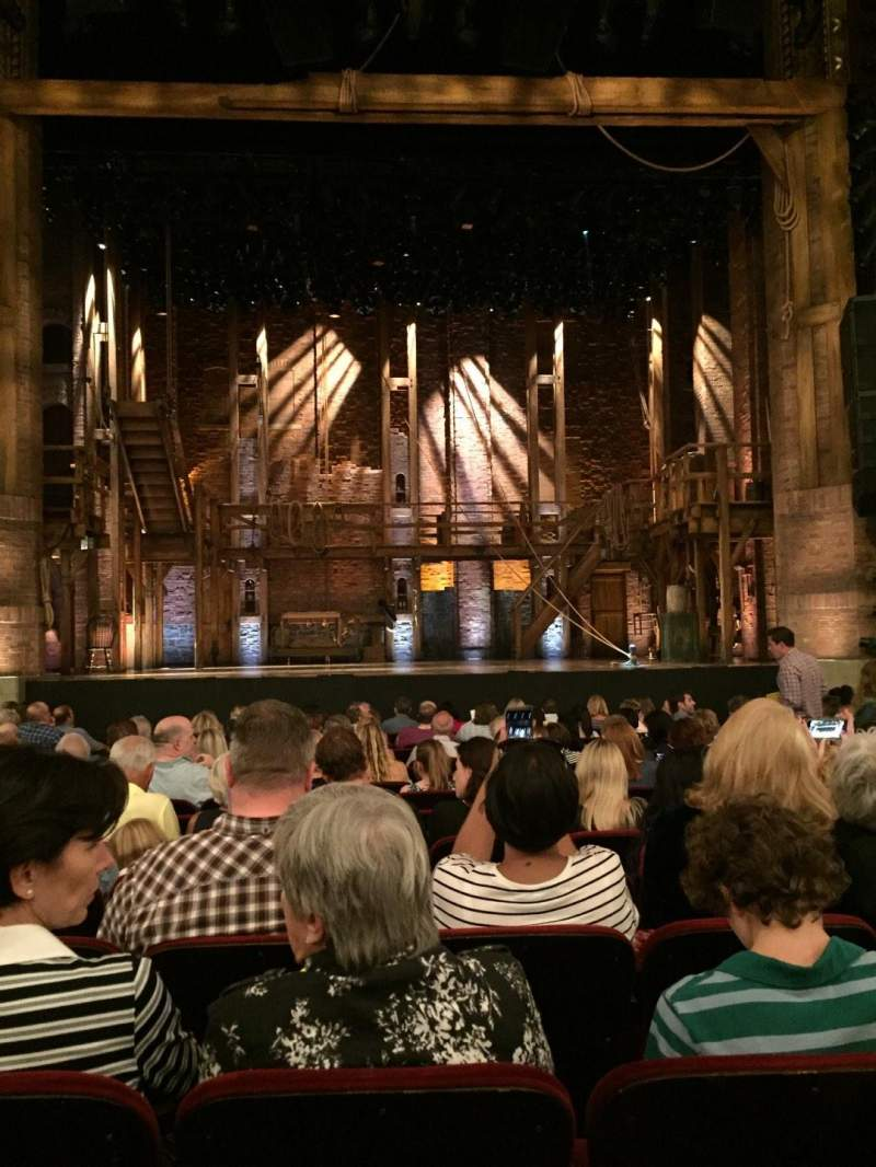 CIBC Theatre, section: Orch C, row: Q, seat: 10
