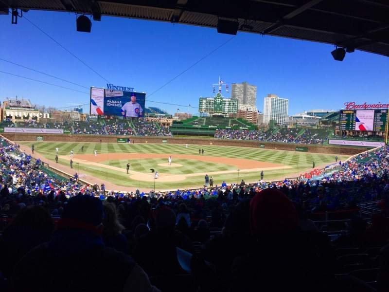 Wrigley Field, section: 222, row: 11, seat: 3