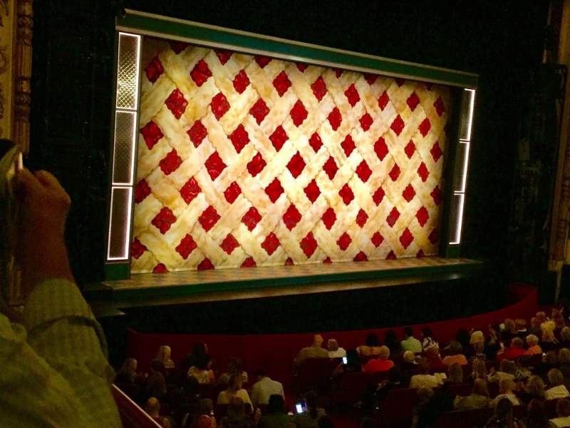 Seating view for Cadillac Palace Theater Section Dress Circle L Row EE Seat 1