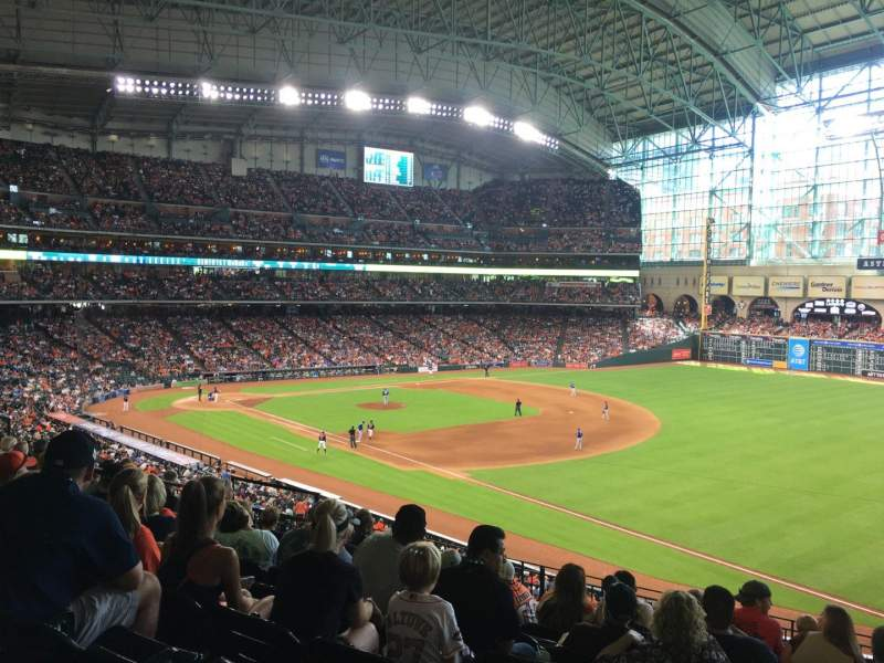 Seating view for Minute Maid Park Section 231 Row 8 Seat 12
