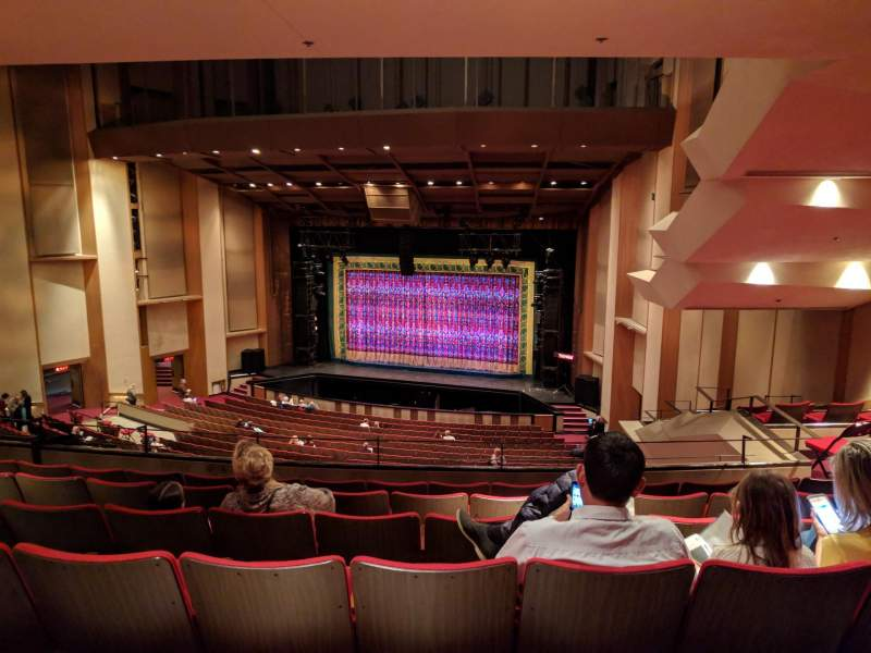 Seating view for Sacramento Community Center Theater Section 1 Tier Row L Seat 5