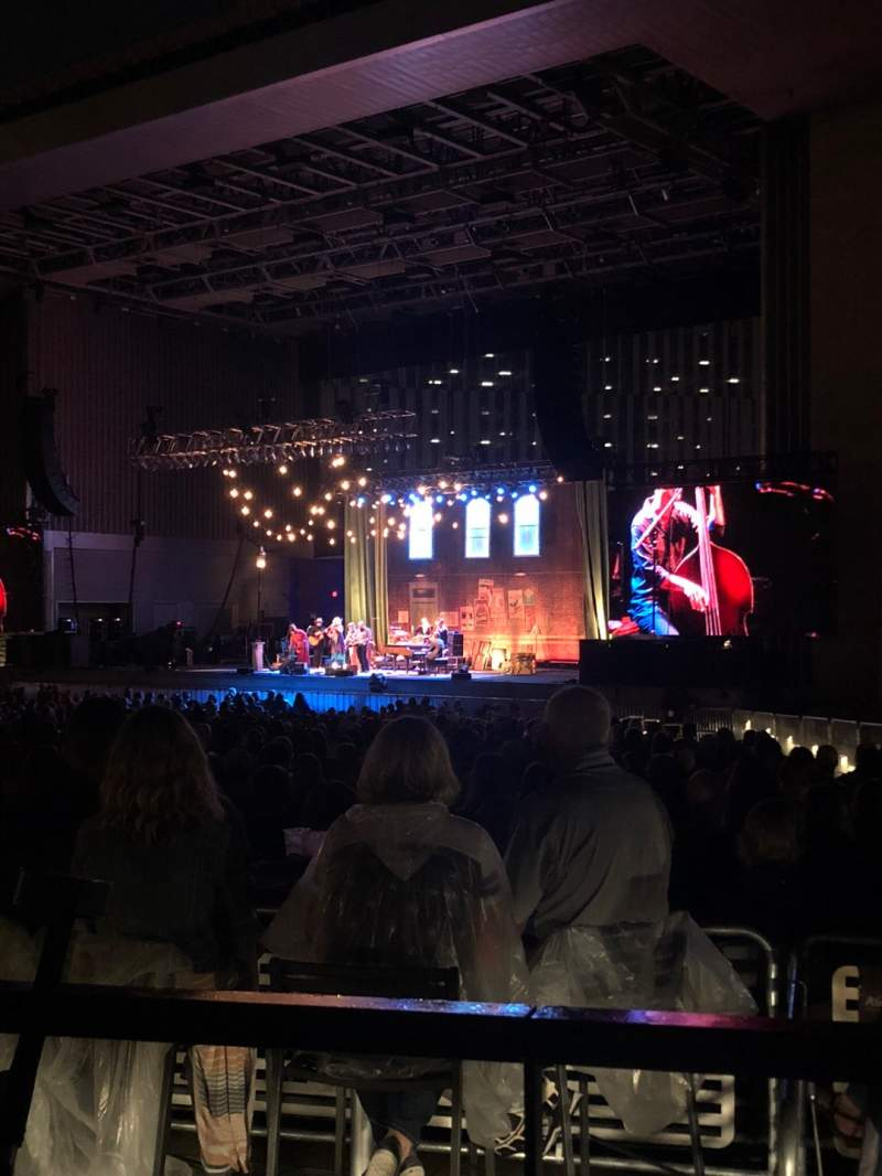 Seating view for Ascend Amphitheater Section 101 Row Wheelchair