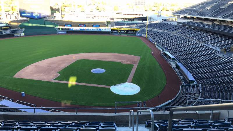 Seating view for Kauffman Stadium Section 415 Row J Seat 12