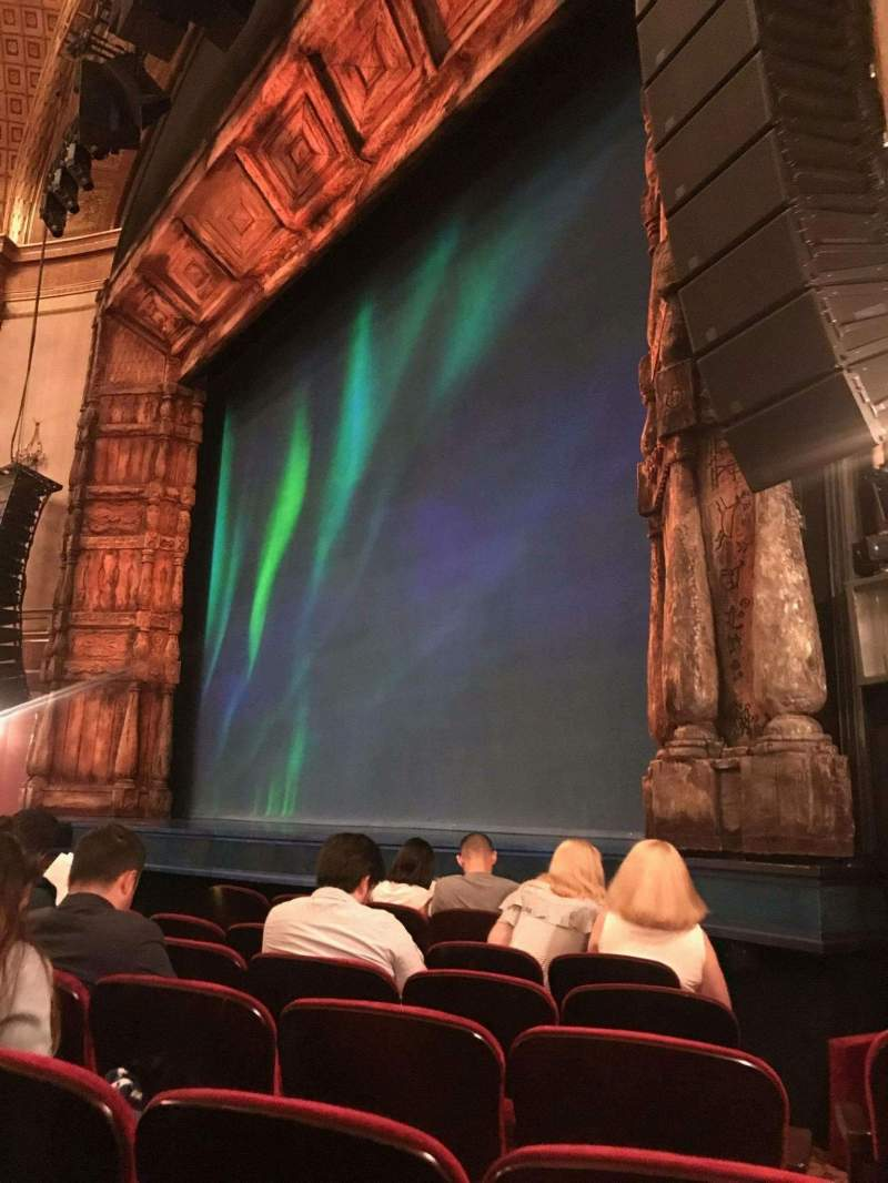 Seating view for St. James Theatre Section Orchestra R Row F Seat 20