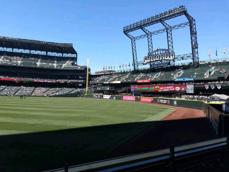 Seating view for Safeco Field Section 106 Row 24 Seat 15