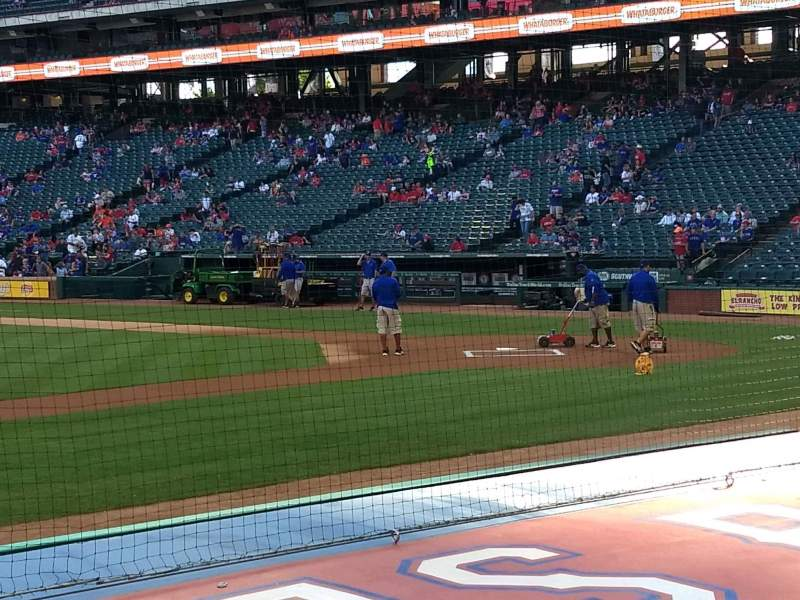 Seating view for Globe Life Park in Arlington Section 19 Row 7 Seat 3