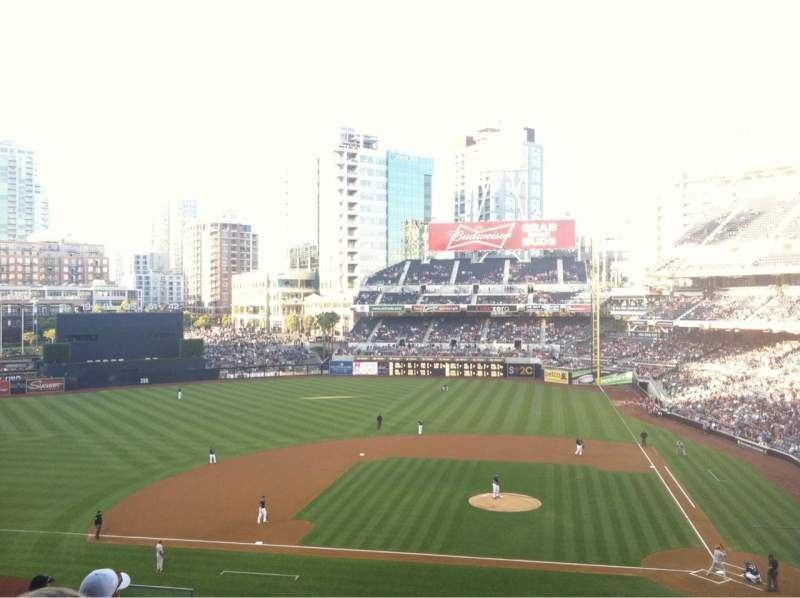 Seating view for PETCO Park Section 208 Row 16