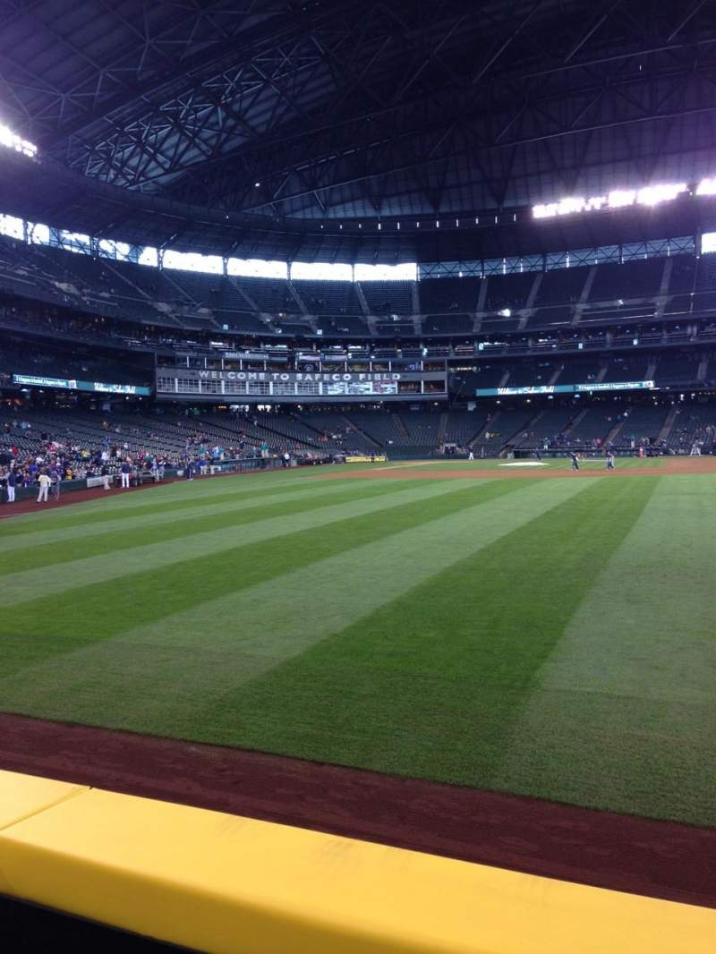 Seating view for Safeco Field Section 106 Row 2
