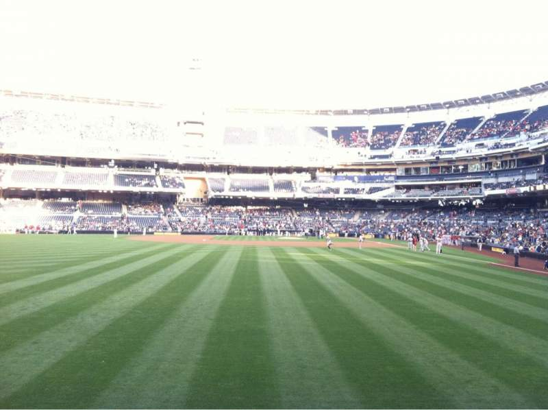 Seating view for PETCO Park  Section 128 Row 1
