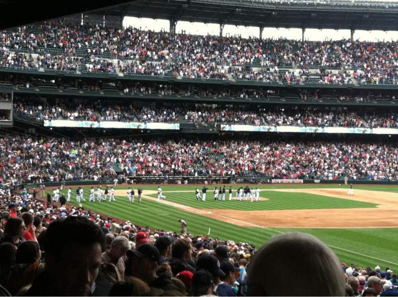 Seating view for Safeco Field Section 114
