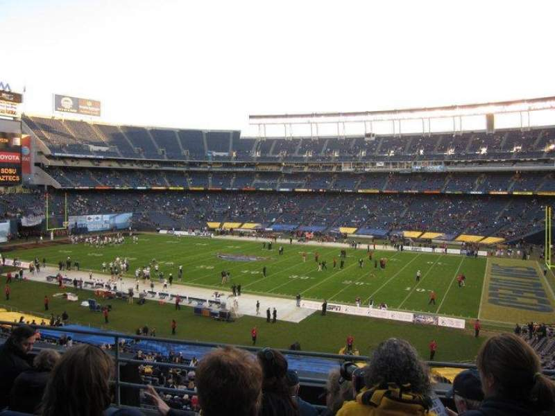 Seating view for Qualcomm Stadium