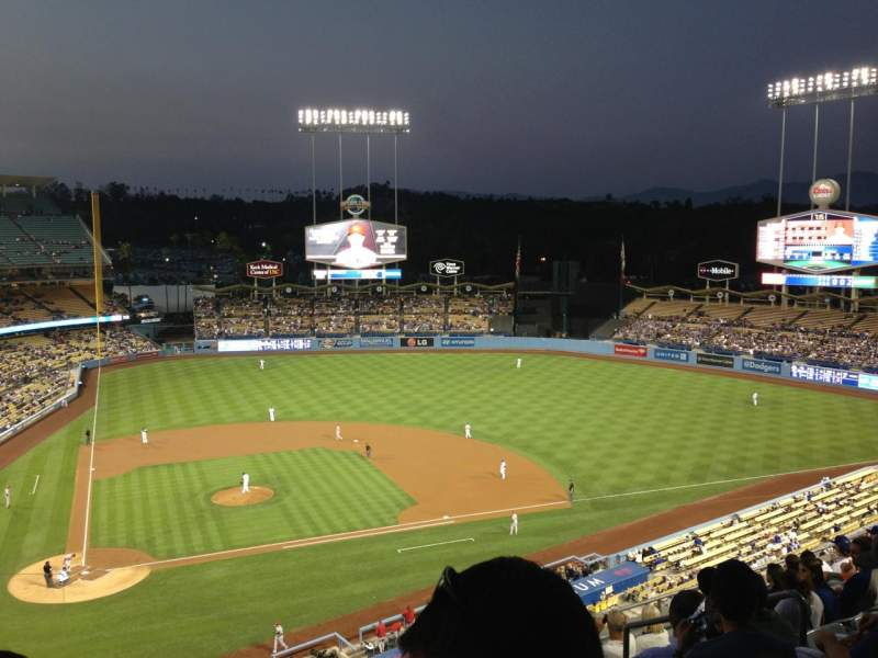 Seating view for Dodger Stadium Section 8RS Row K Seat 15