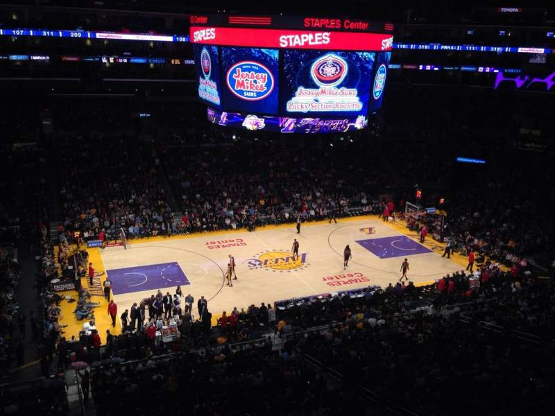 Seating view for Staples Center Section Suite C15 Row GA Seat GA