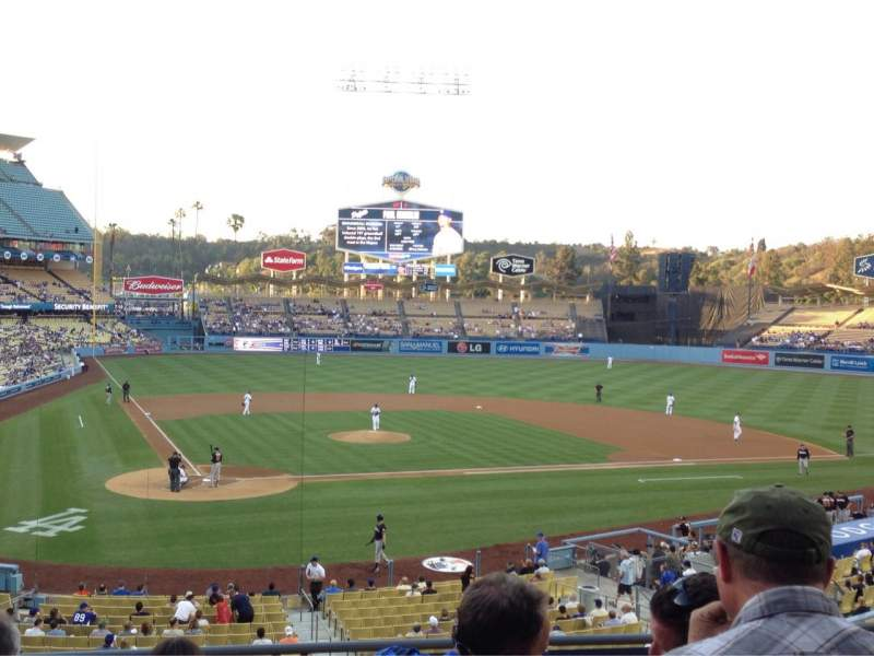 Seating view for Dodger Stadium Section 116LG Row F Seat 3