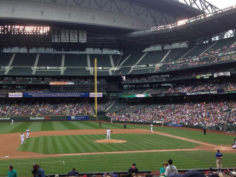 Seating view for Safeco Field Section 138 Row 26 Seat 8