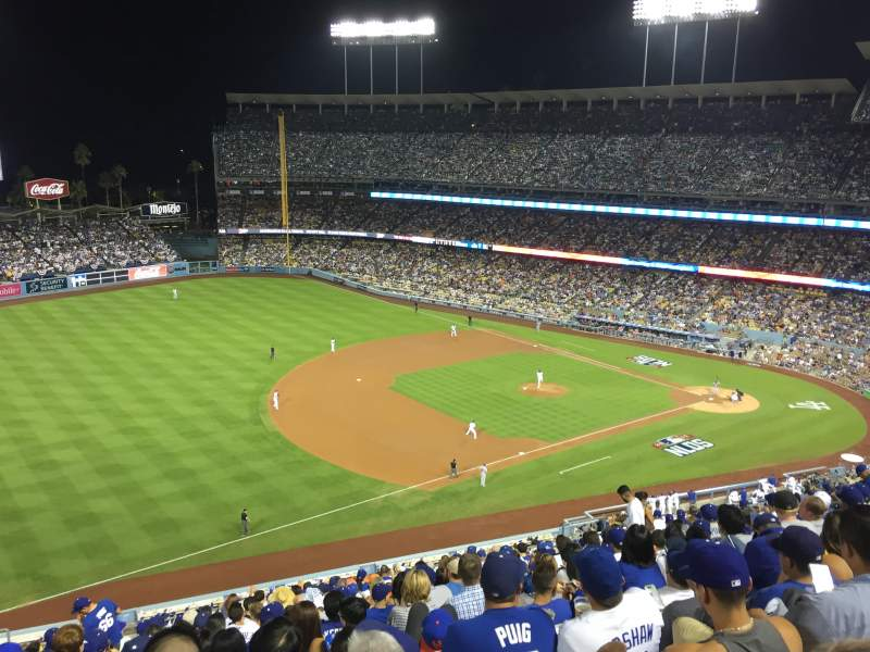 Seating view for Dodger Stadium Section 31RS Row T Seat 17