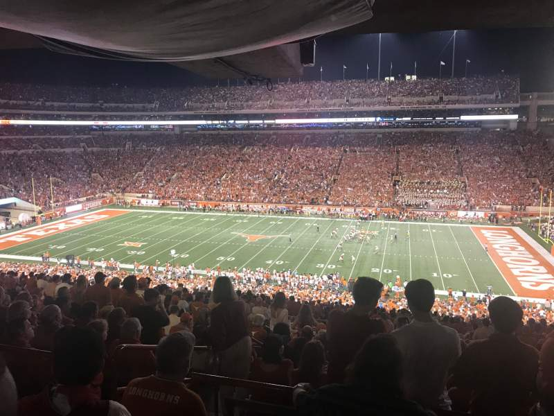 Seating view for Texas Memorial Stadium Section 3 Row 66 Seat 4