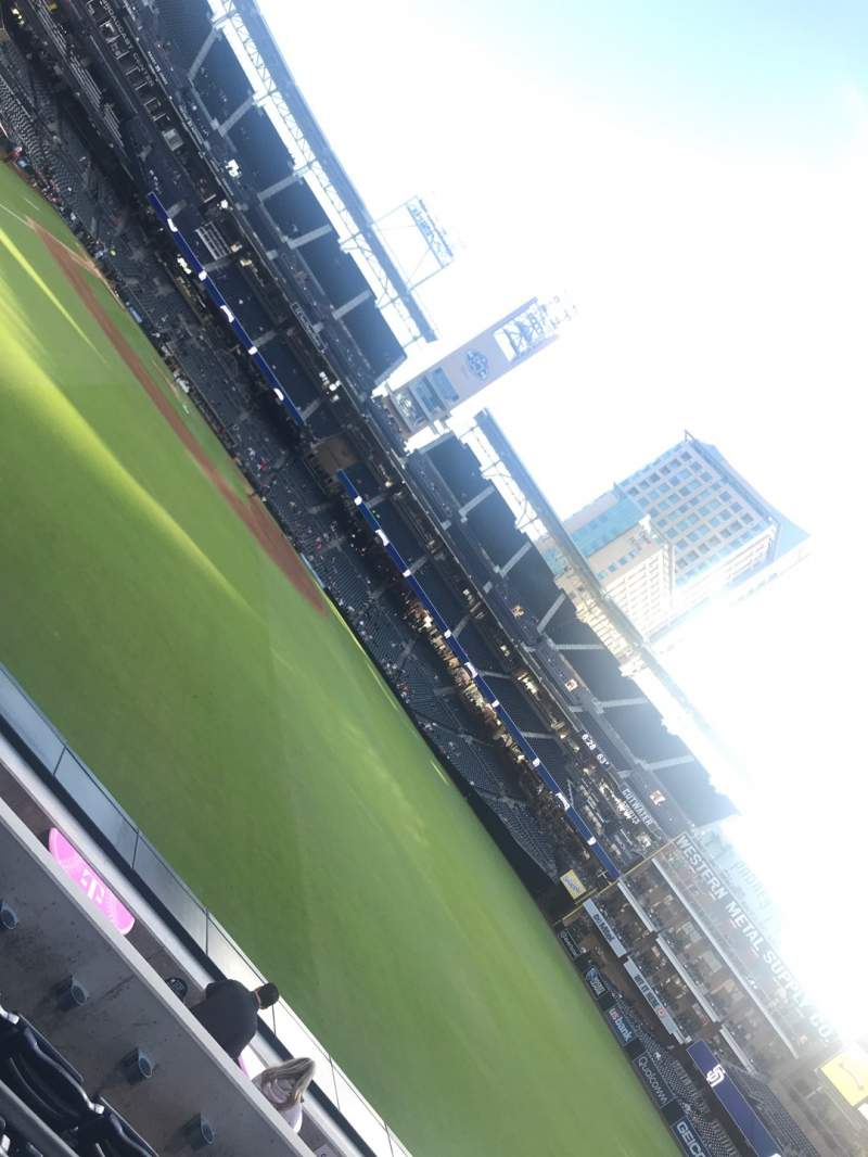 Seating view for PETCO Park Section 131 Row 5D Seat 3