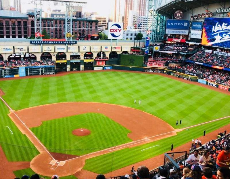 Seating view for Minute Maid Park Section 421 Row 11 Seat 11