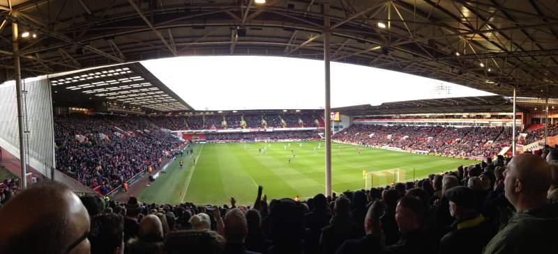 Seating view for Bramall Lane Section Kop Stand Row KK Seat 063