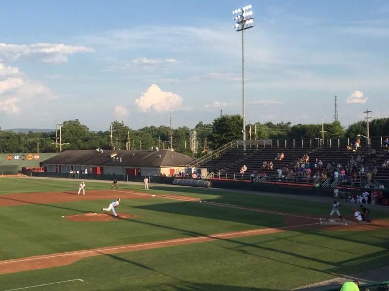 Seating view for Municipal Stadium Section GA Row GA Seat GA