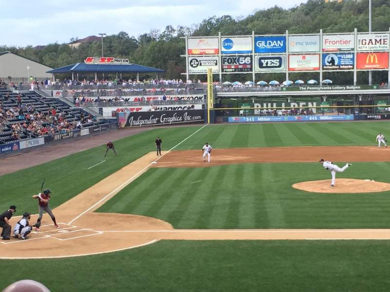 Seating view for PNC Field Section 18 Row 13 Seat 10
