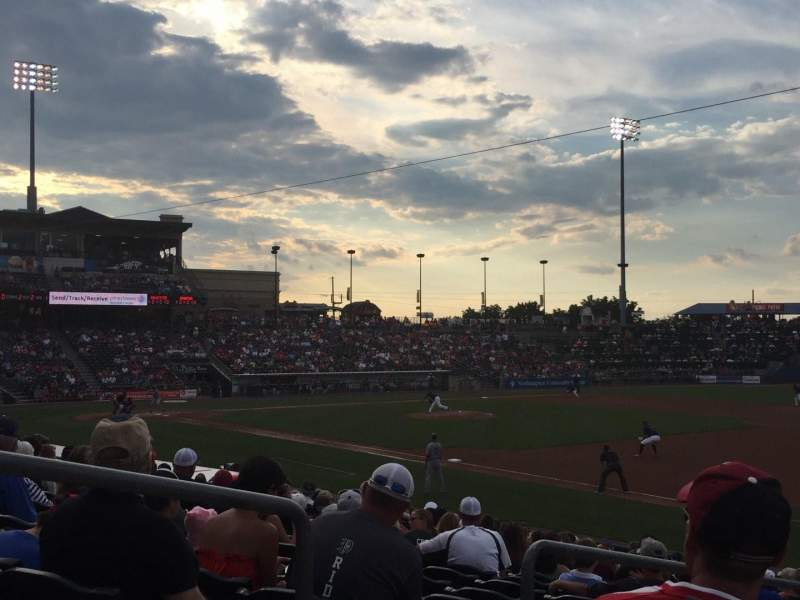 Coca-Cola Park, section: 104, row: U, seat: 3