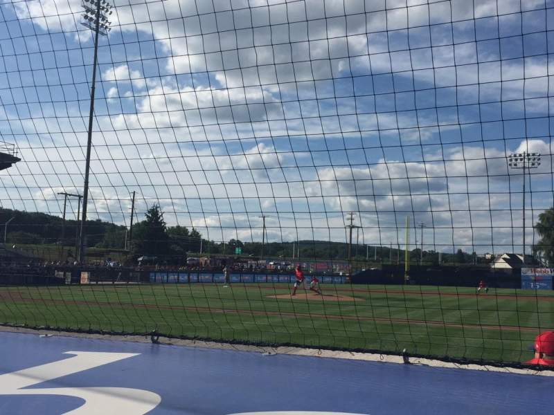 BB&T Ballpark at Historic Bowman Field, section: A, row: F, seat: 4