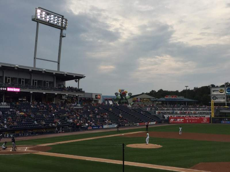 Seating view for PNC Field Section 15 Row 13 Seat 16