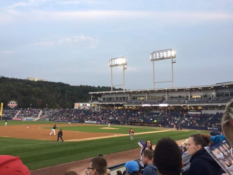 Seating view for PNC Field Section 29 Row 7 Seat 12