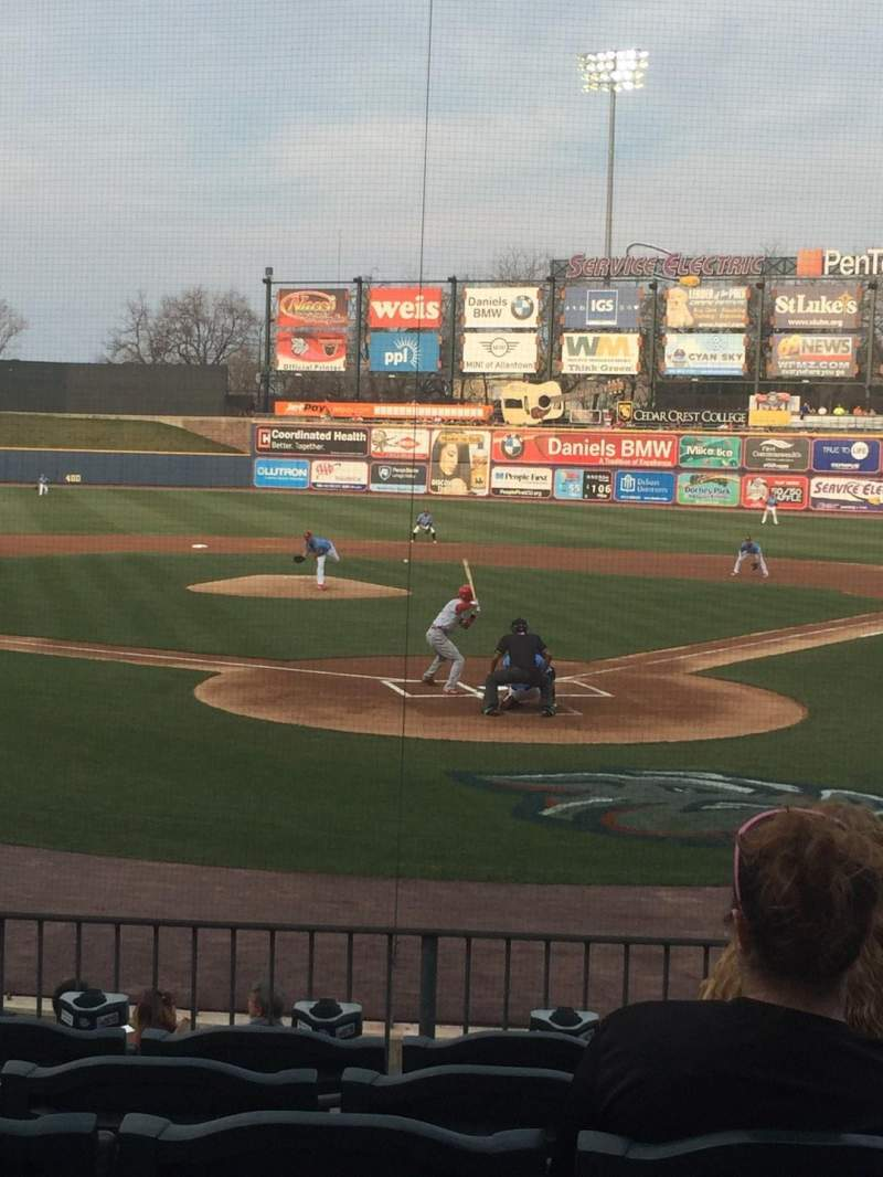 Coca-Cola Park, section: 113, row: P, seat: 7