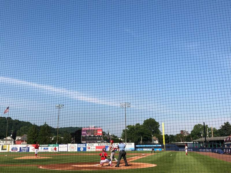 Seating view for BB&T Ballpark at Historic Bowman Field Section J Row E Seat 2