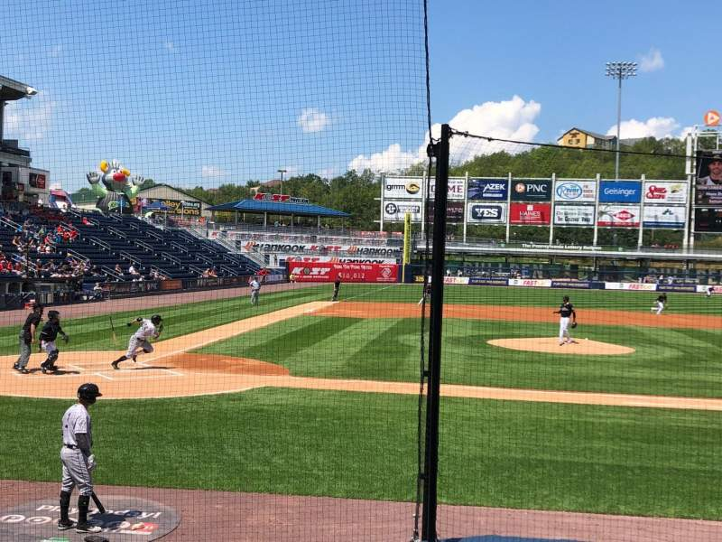 Seating view for PNC Field Section 18 Row 7 Seat 7