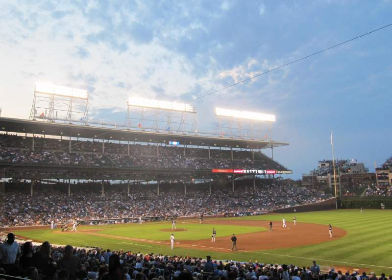 Seating view for Wrigley Field Section 236 Row 4