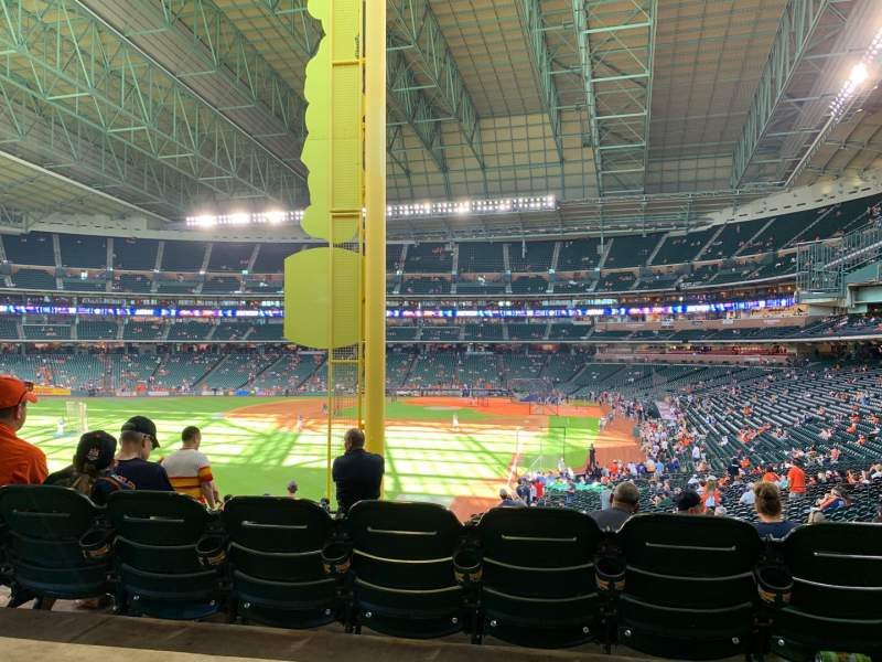 Seating view for Minute Maid Park Section 104 Row SRO Seat SRP