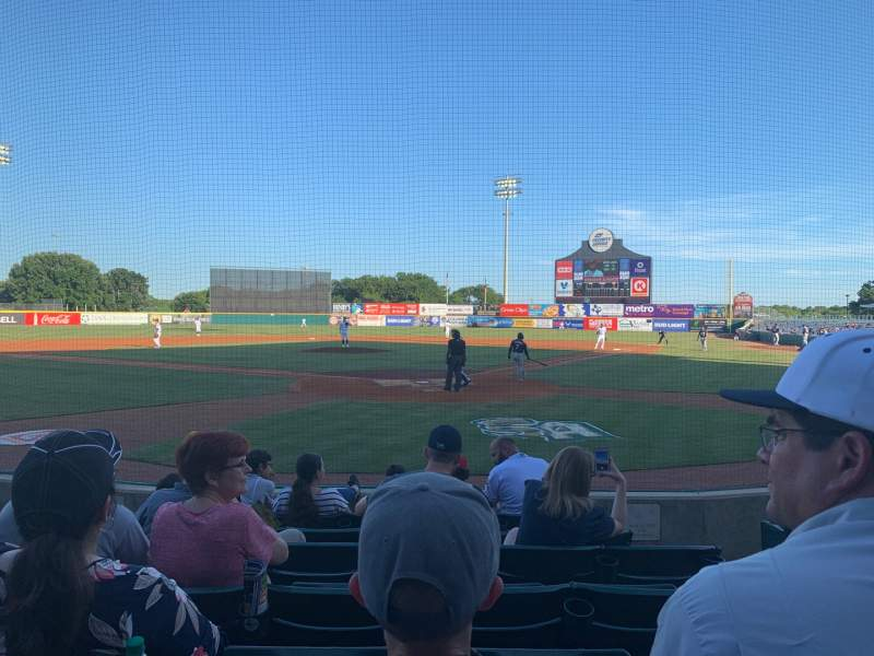 Seating view for Nelson W. Wolff Municipal Stadium Section 101 Row G Seat 4