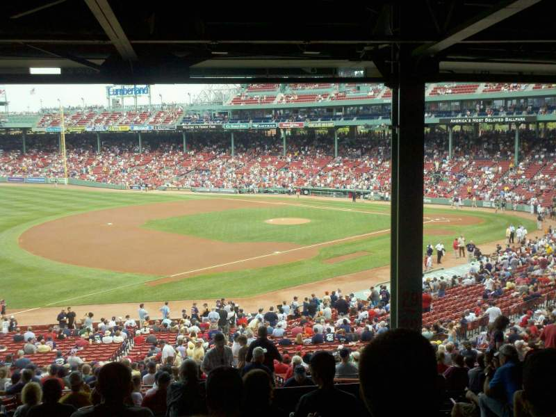 Seating view for Fenway Park Section Grandstand 30 Row 15 Seat 5