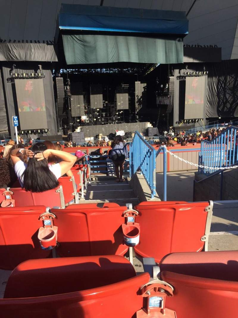 Seating view for Shoreline Amphitheatre Section 203 Row H Seat 2