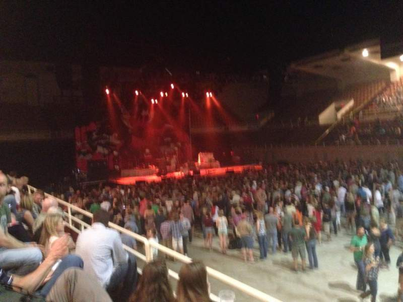 Seating view for Knoxville Civic Auditorium and Coliseum Section CC Row C Seat 9