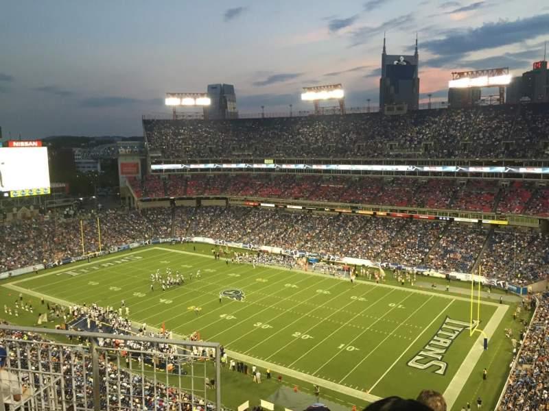 Nissan Stadium, section: 306, row: J, seat: 9