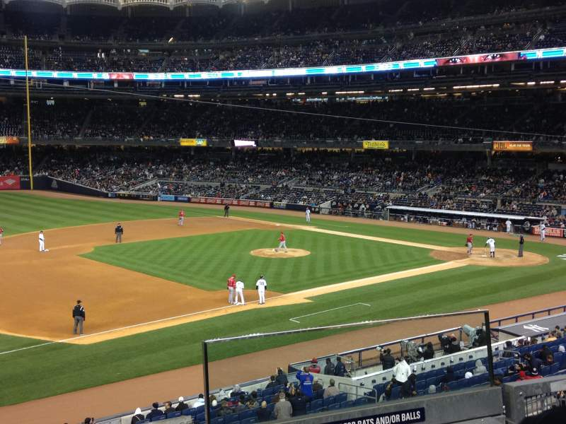 Seating view for Yankee Stadium Section 227b Row 3 Seat 2