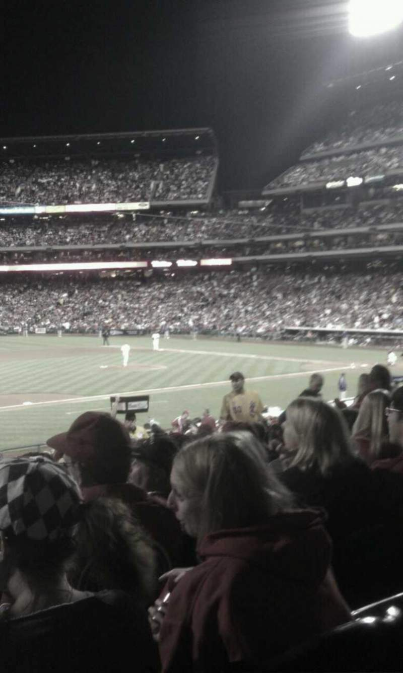 Seating view for Citizens Bank Park Section 133 Row 32 Seat 14