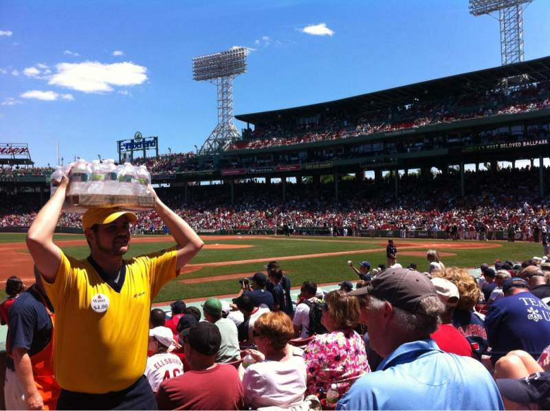 Seating view for Fenway Park Section Field box 69 Row M