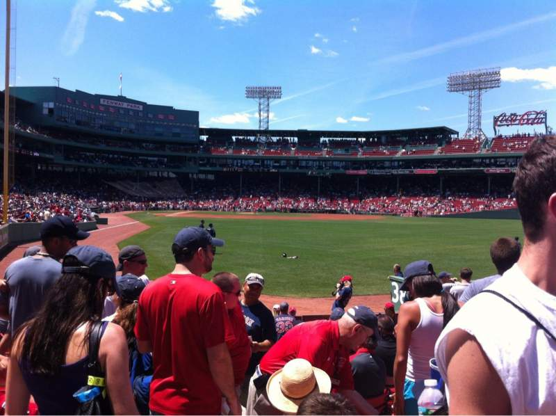 Seating view for Fenway Park Section Right Field box 1 Seat 15