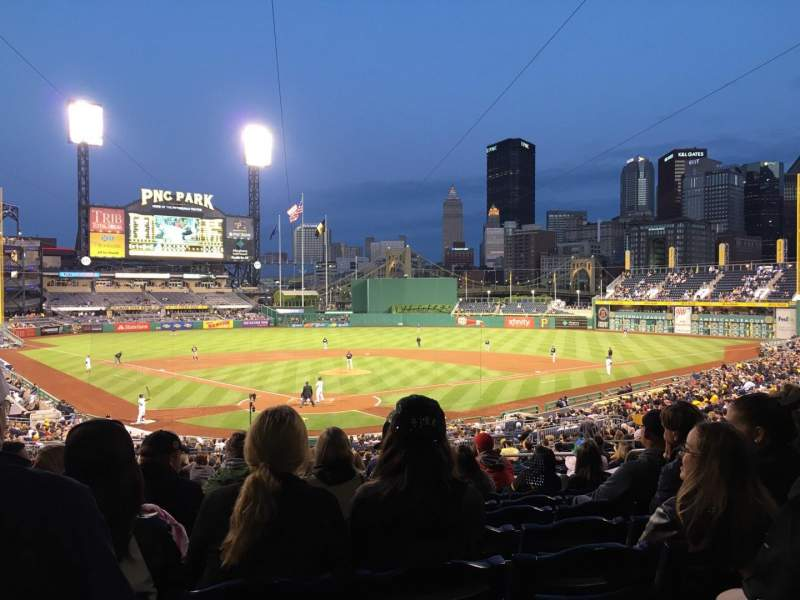 Seating view for PNC Park Section 115 Row BB Seat 24