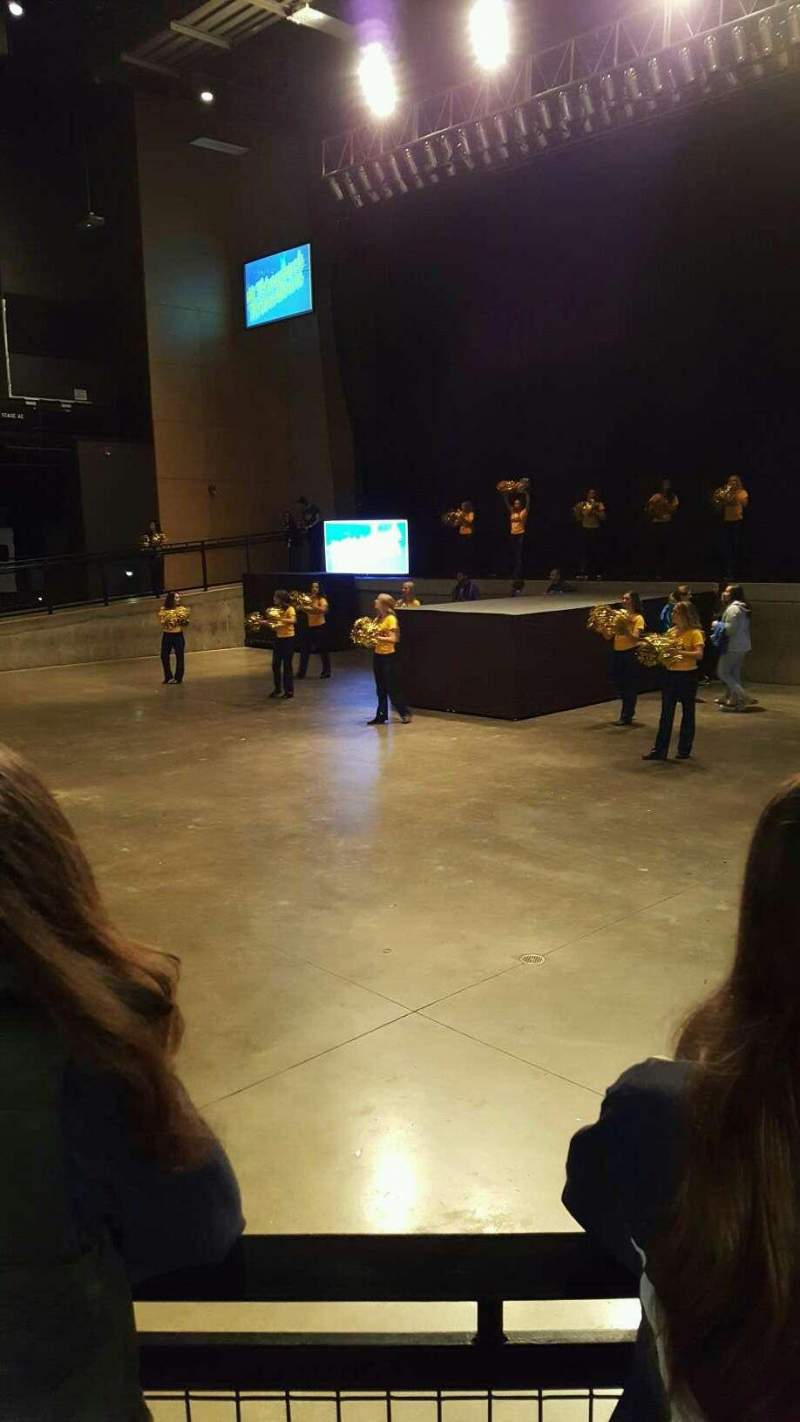 Seating view for Stage AE